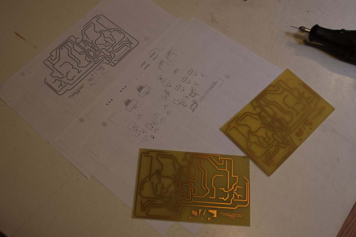 Second version - Second version, process, electronics