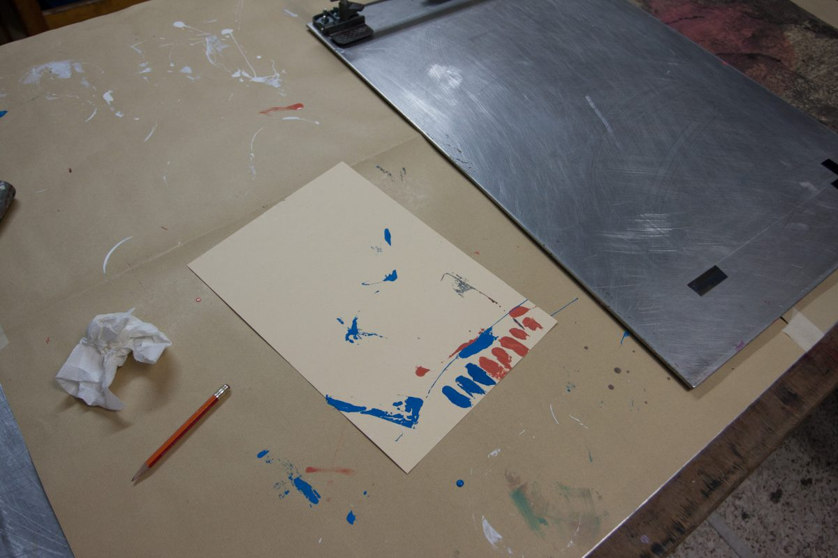 process, studio, silkscreen