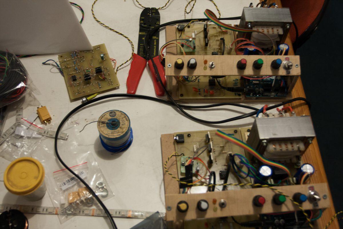 Both modules - Both modules, process, arduino, electronics
