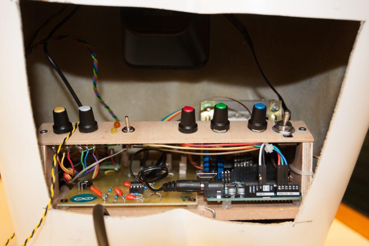 Module installed, process, arduino, electronics