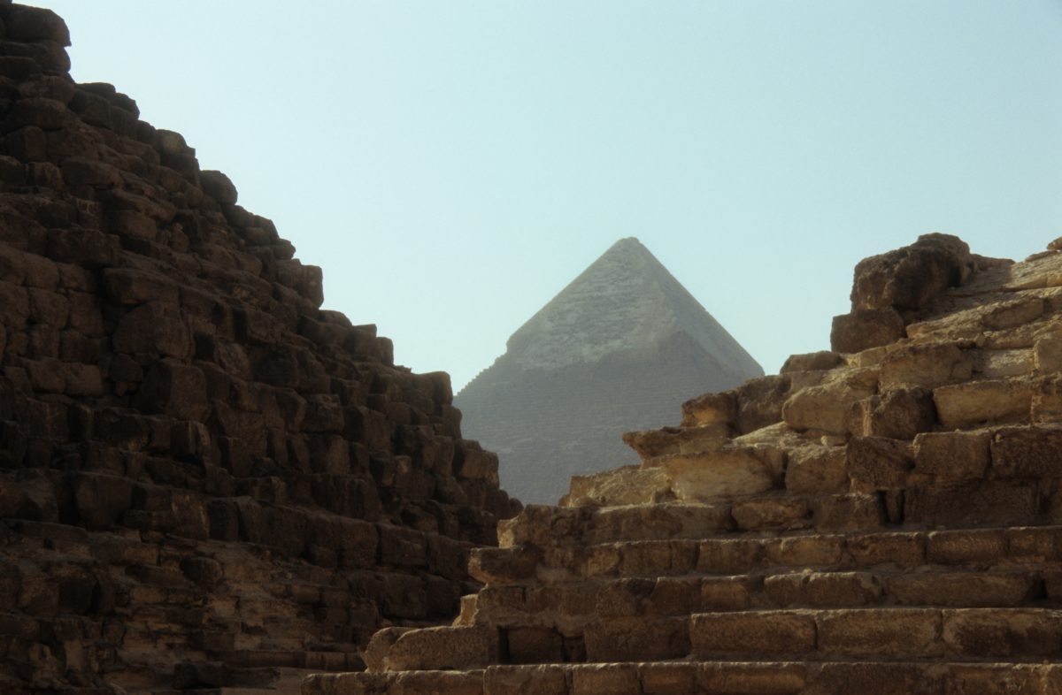 Khafre pyramid - Second largest, landmark
