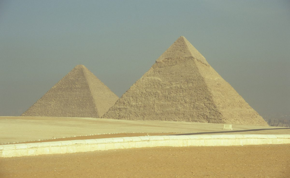 landmark, sand
