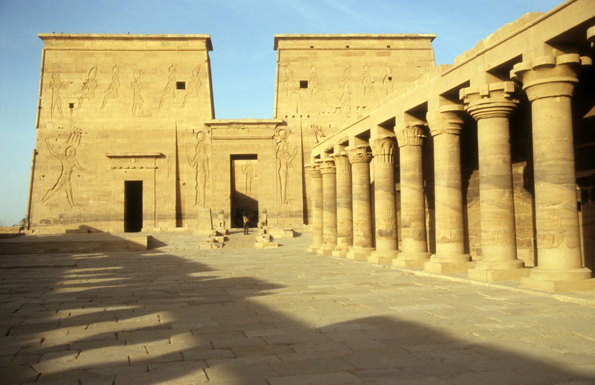 Kom Ombo Temple - Relocated due to the dam construction, landmark