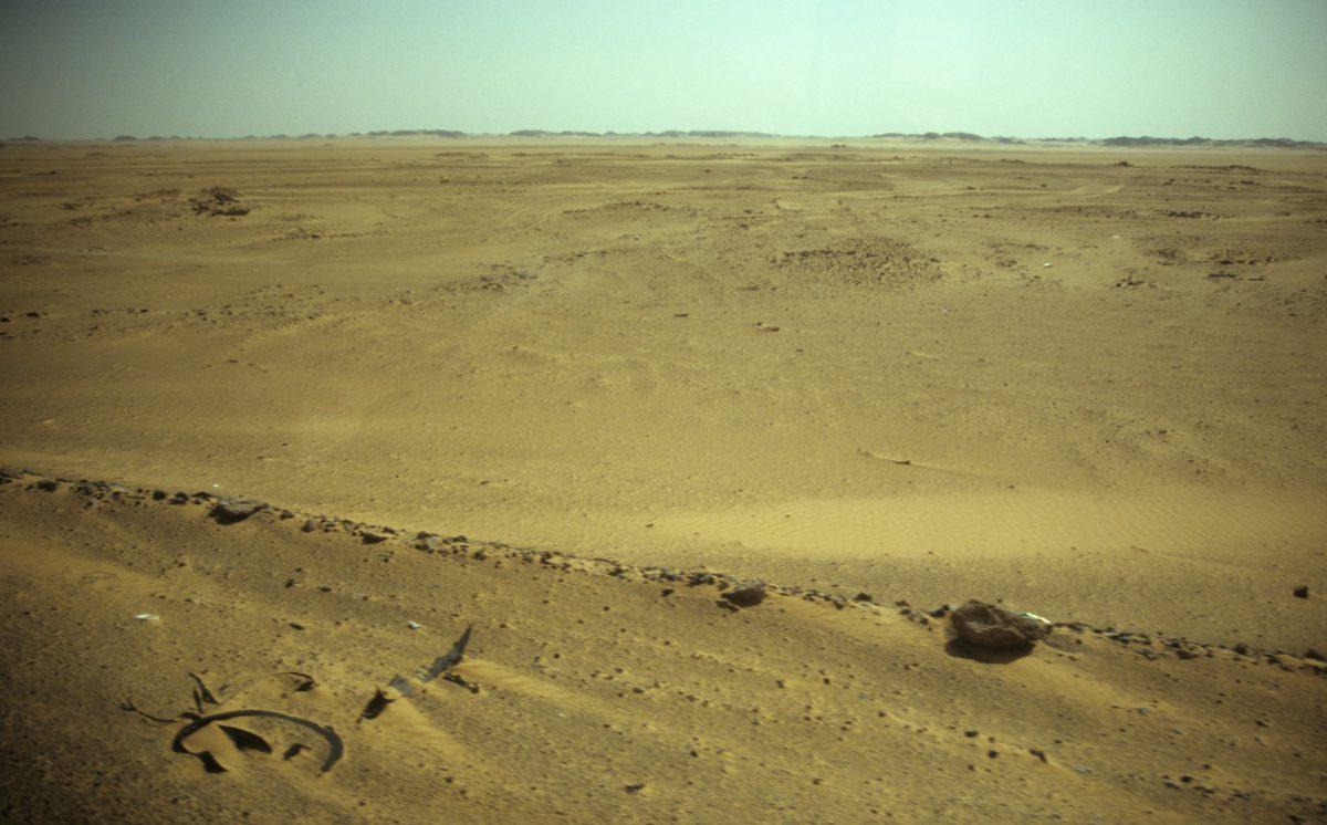 Endless desert, desert, sand
