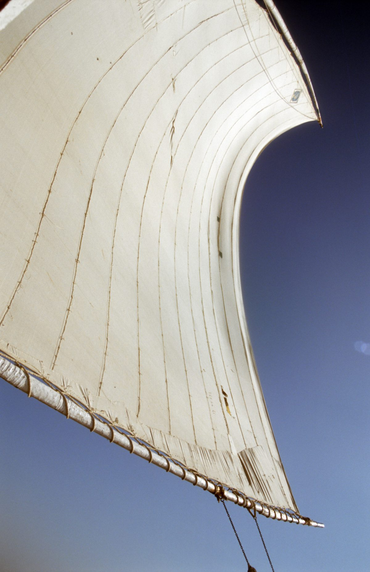 Sail, boat, sky