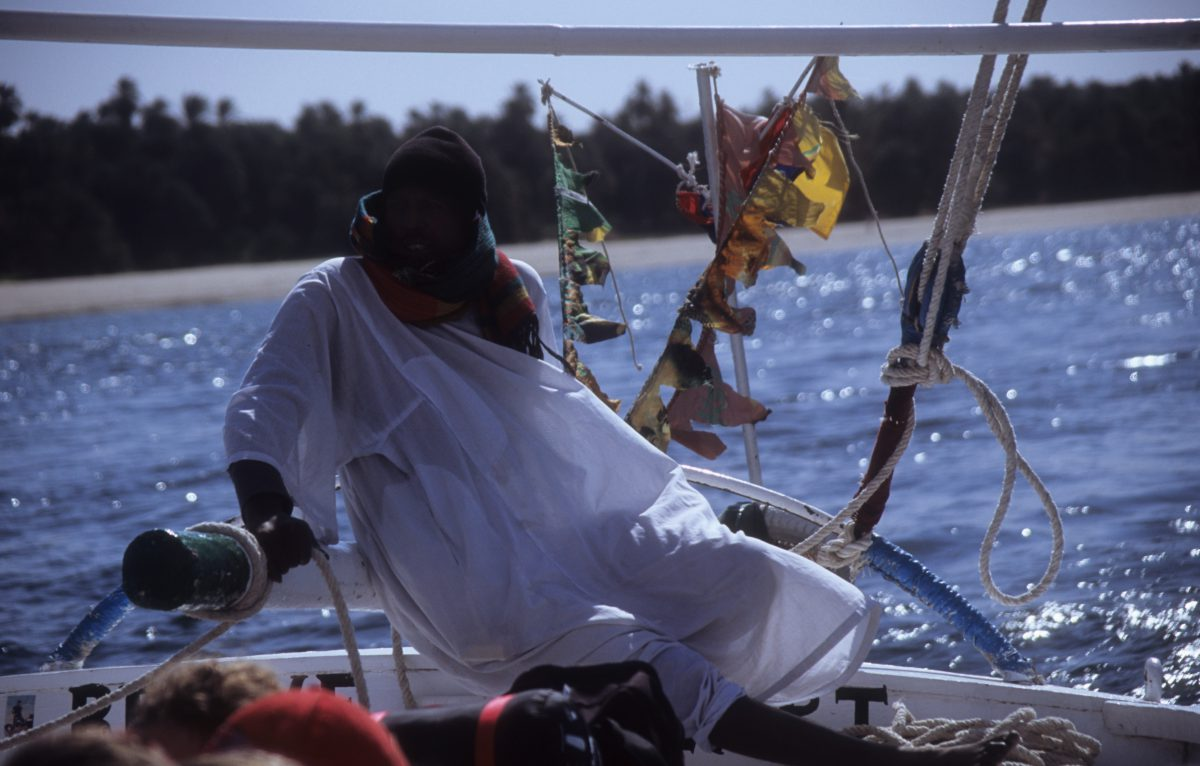 Felucca Captain, boat, male, work
