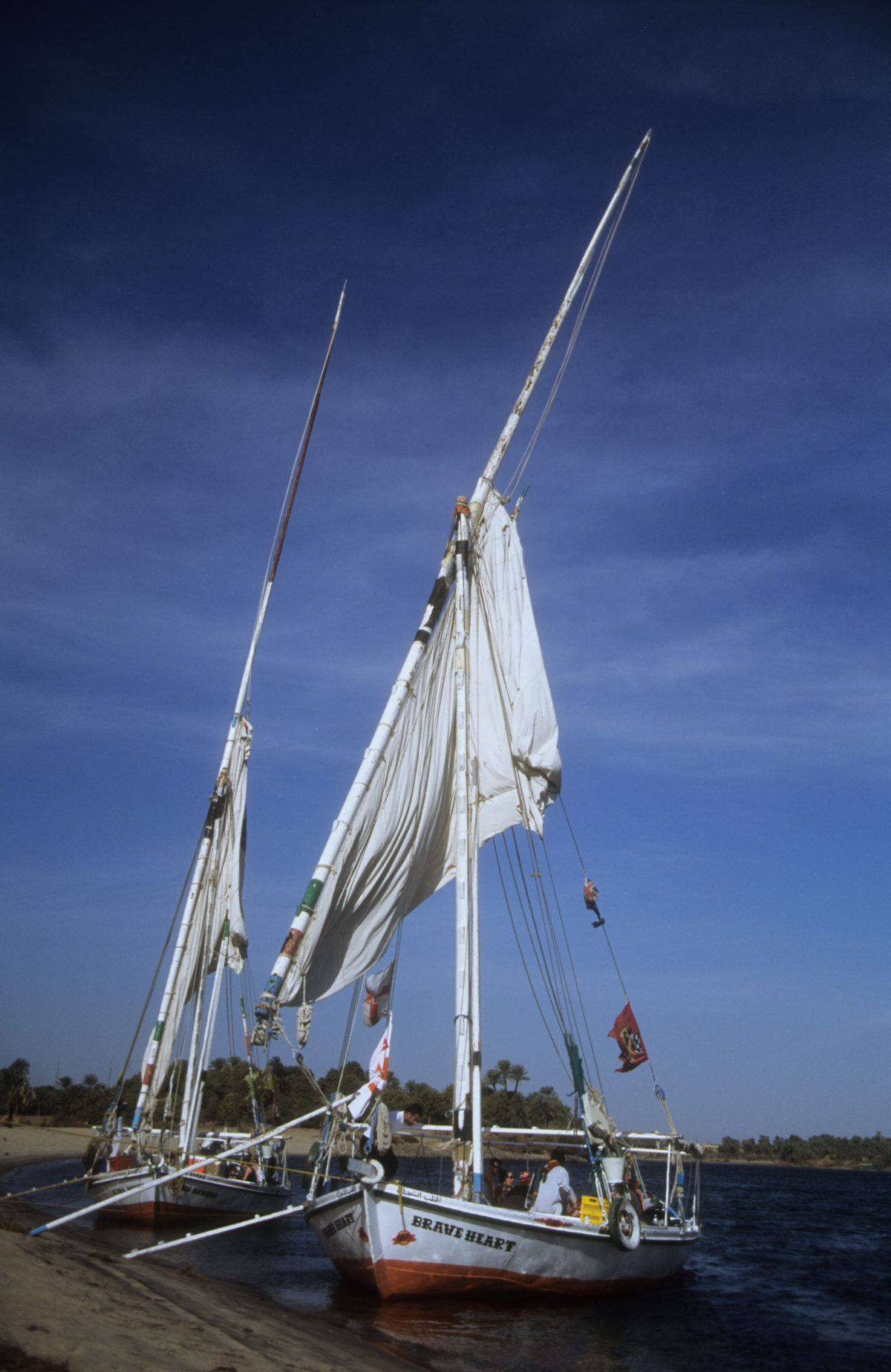 Camp spot, boat