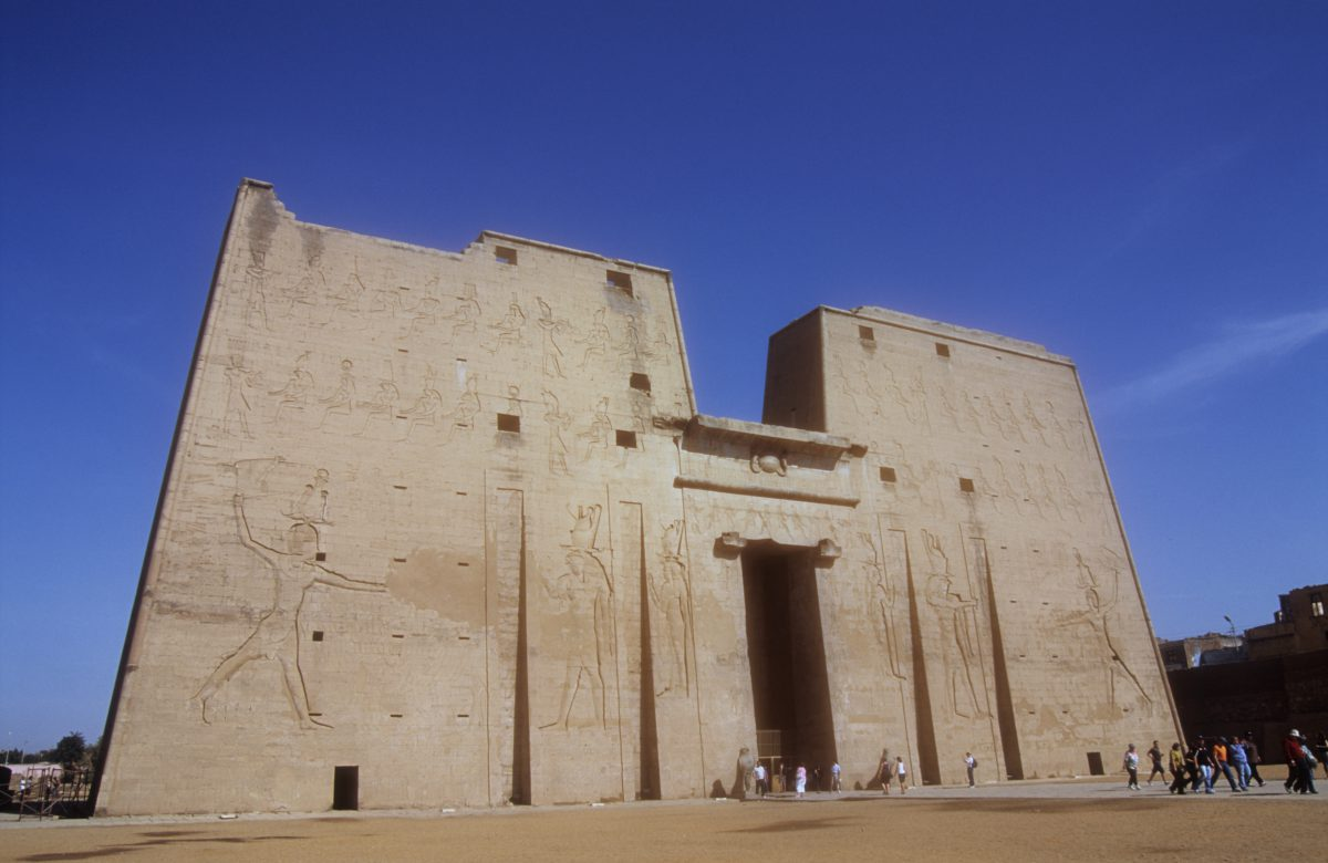 Temple of Edfu, landmark
