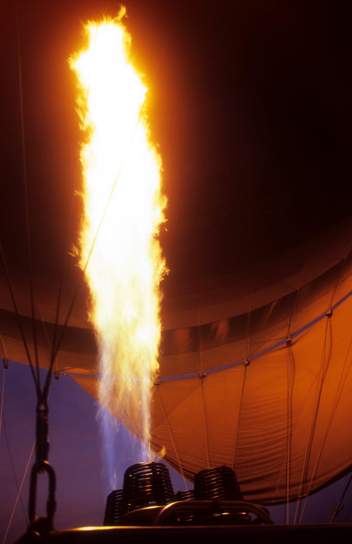 fire, ballon