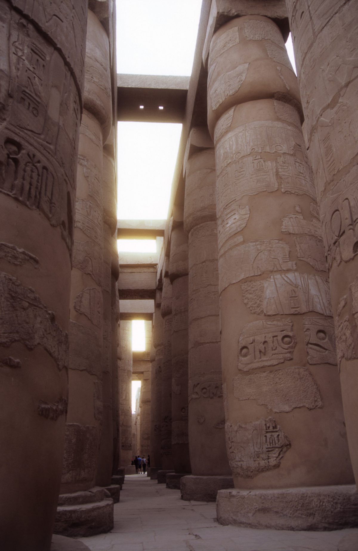 Luxor Temple - A large Egyptian Temple complex. The biggest hall of the ancient world., landmark