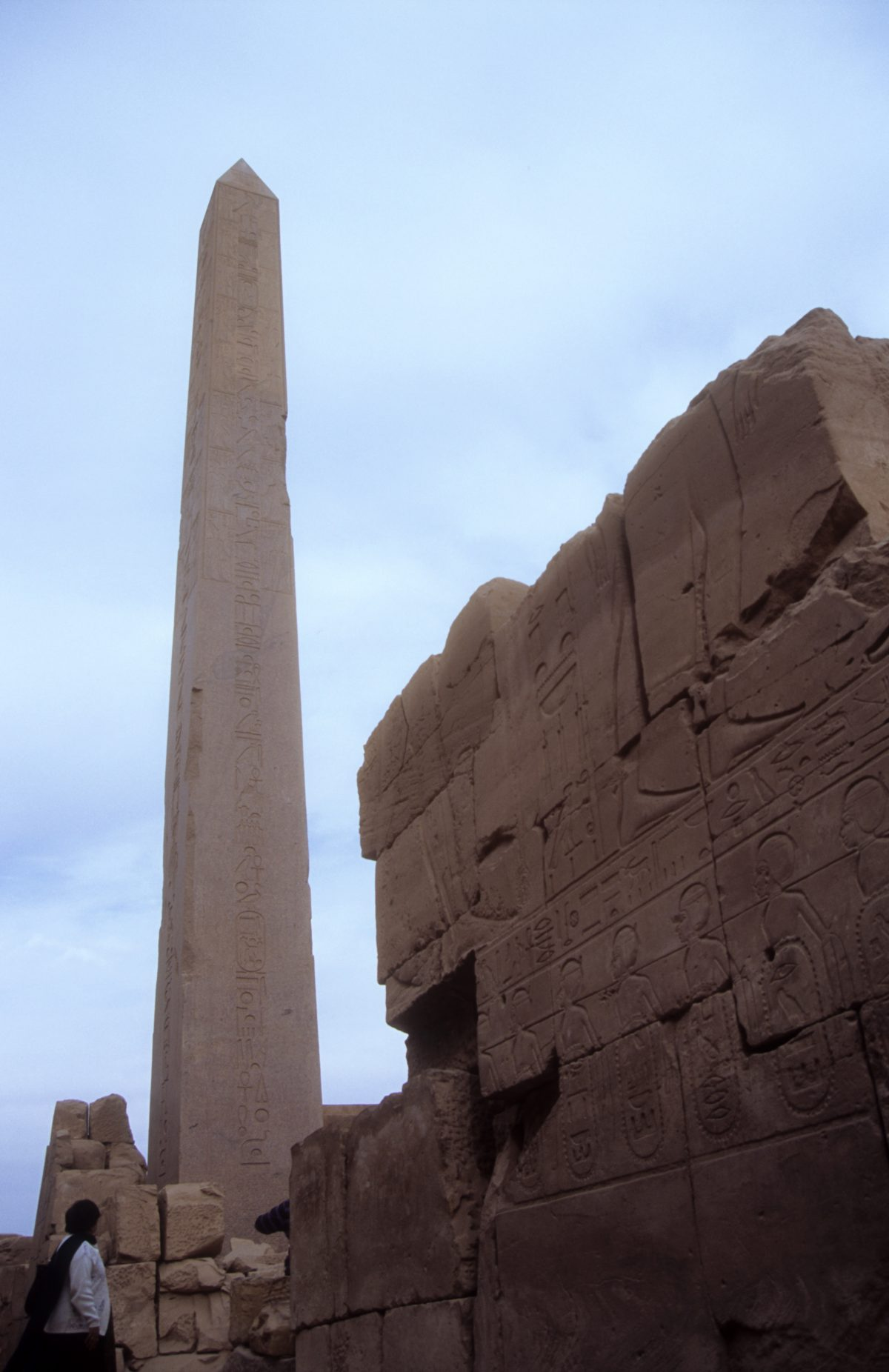 Luxor Temple - A large Egyptian Temple complex., landmark