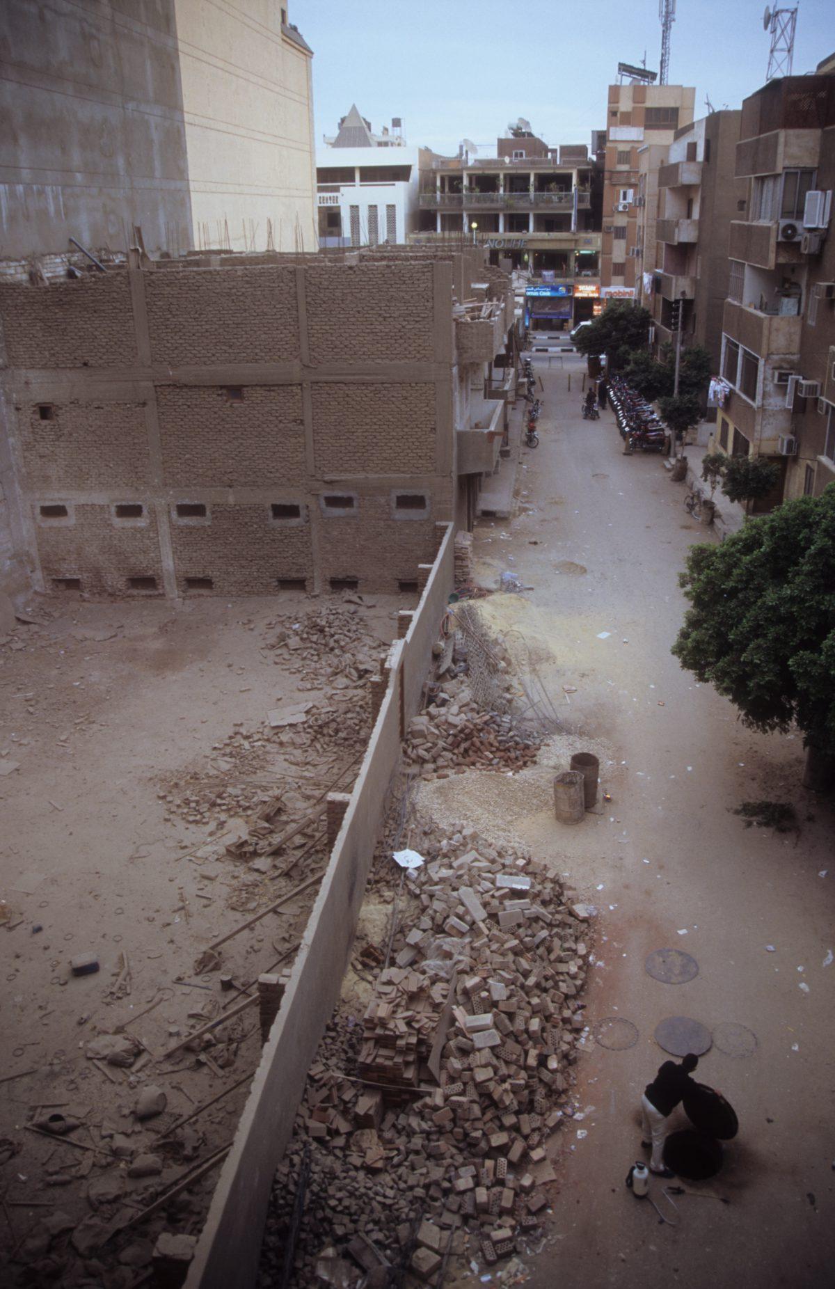 street, decay