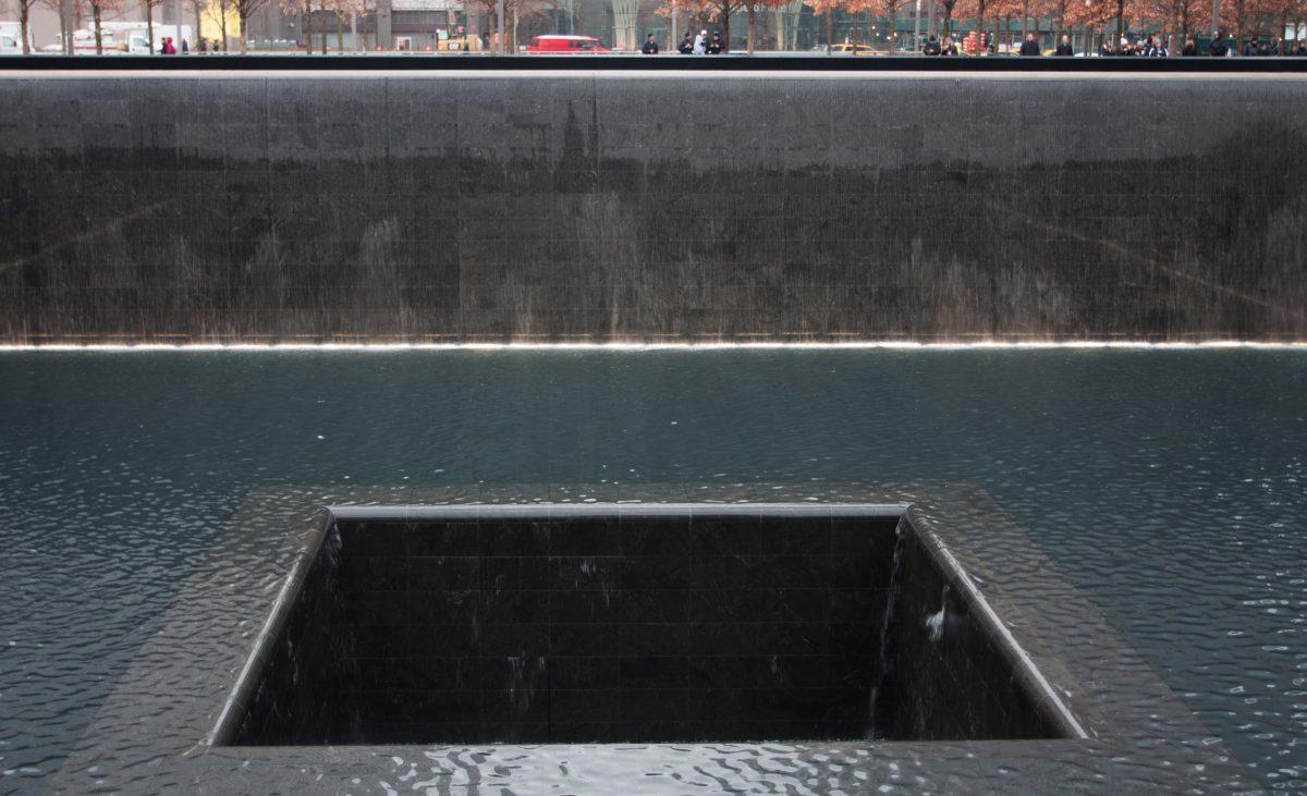 9/11 Memorial, pool, memorial, water