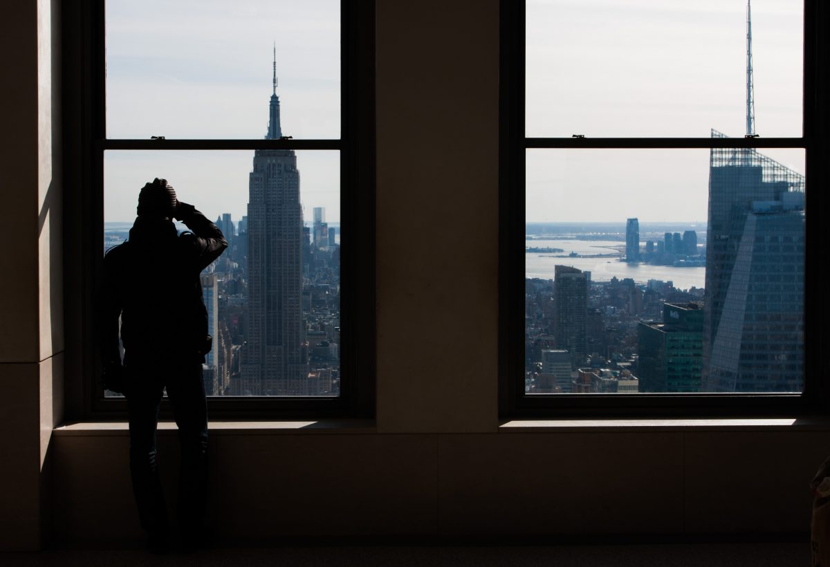 Top of the Rock, building, view, window