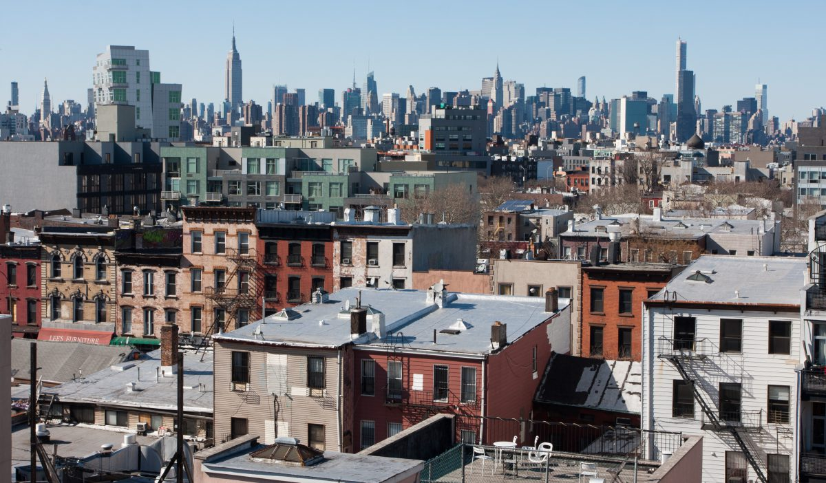 Williamsburg, view, building, city