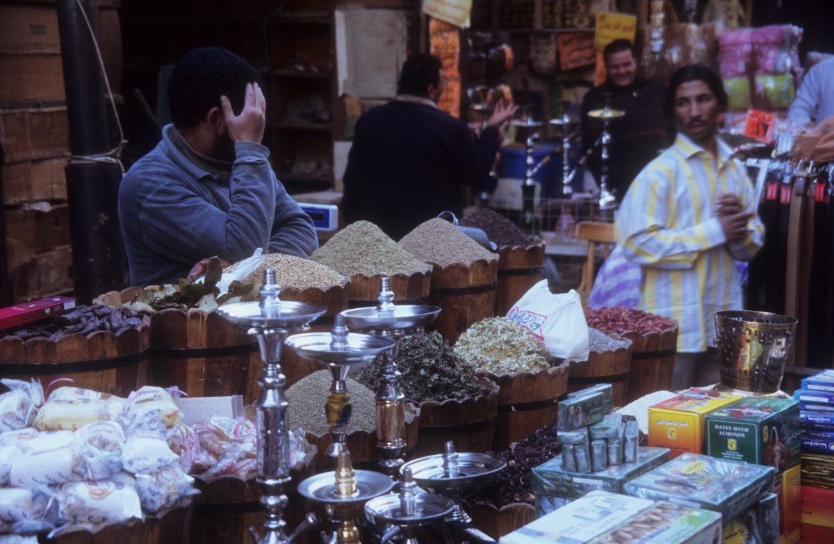 Khan el-Khalili Market, market, shop, male