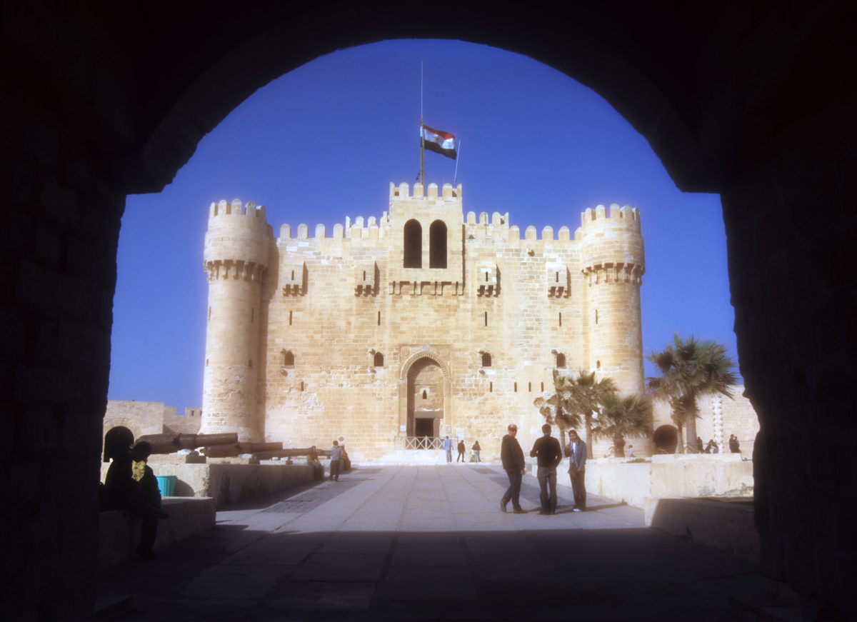 Citadel of Qaitbay - Where the Lighthouse of Alexandria used to be, landmark