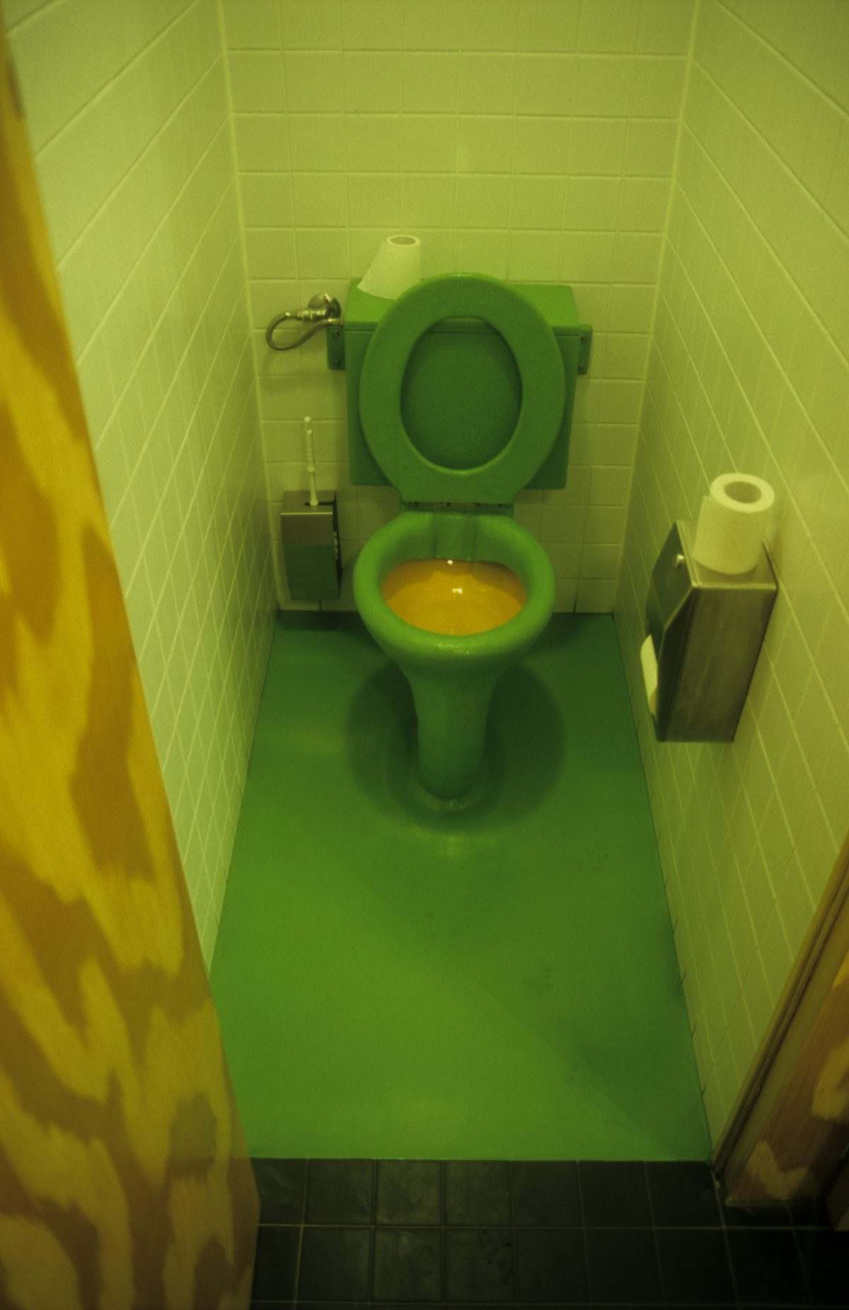 Vegetarian toilet - At Dick Bruna House, toilet, color