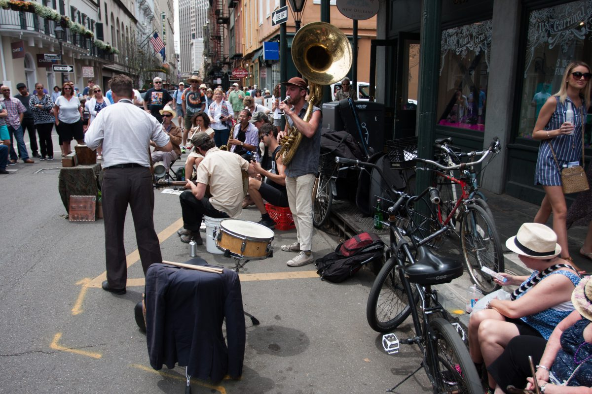 street, music, people