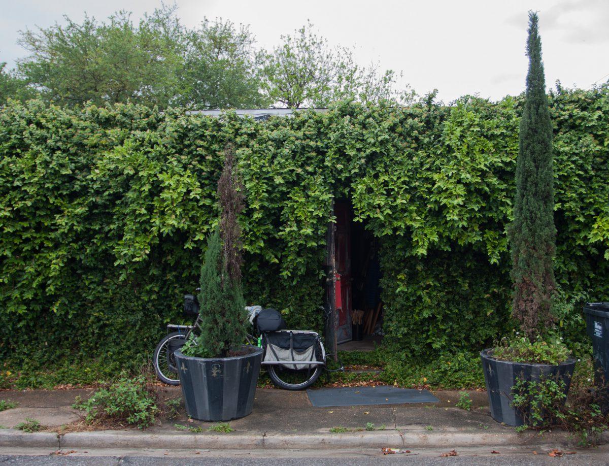 bike, door
