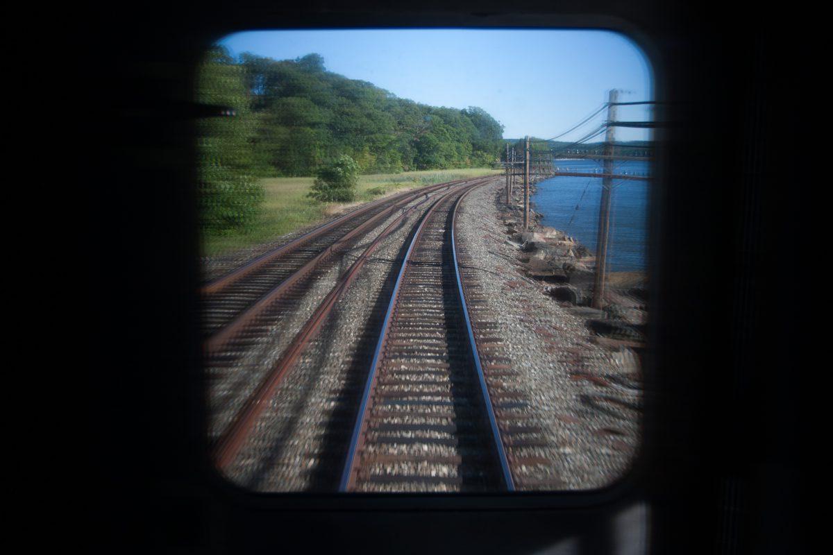Train ride, train