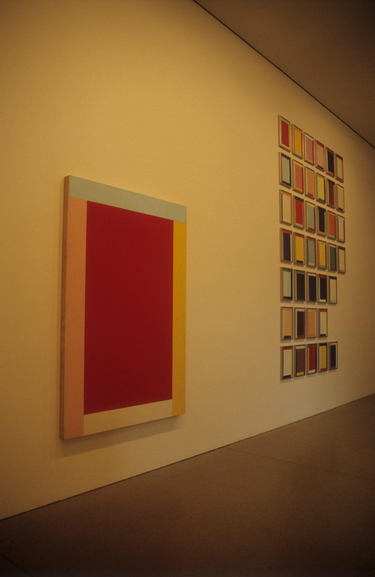 Modern art - At, art, museum, painting