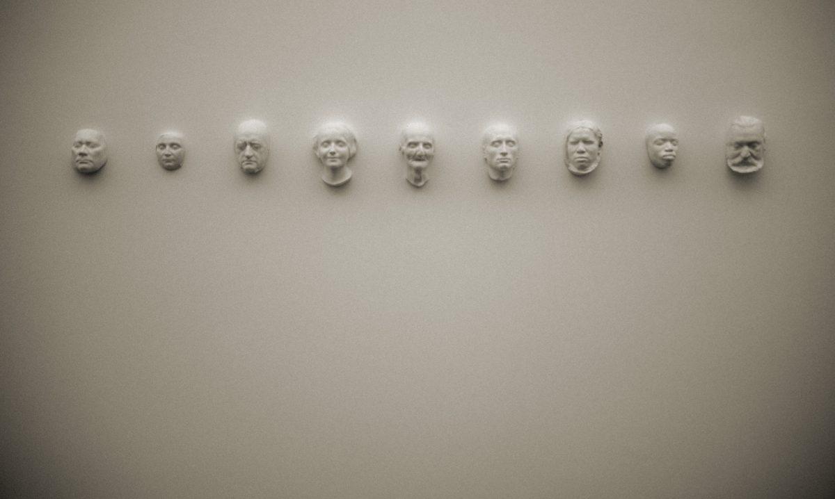 Faces - At Hamburger Bahnhof Contemporary art museum, art, face, sculpture
