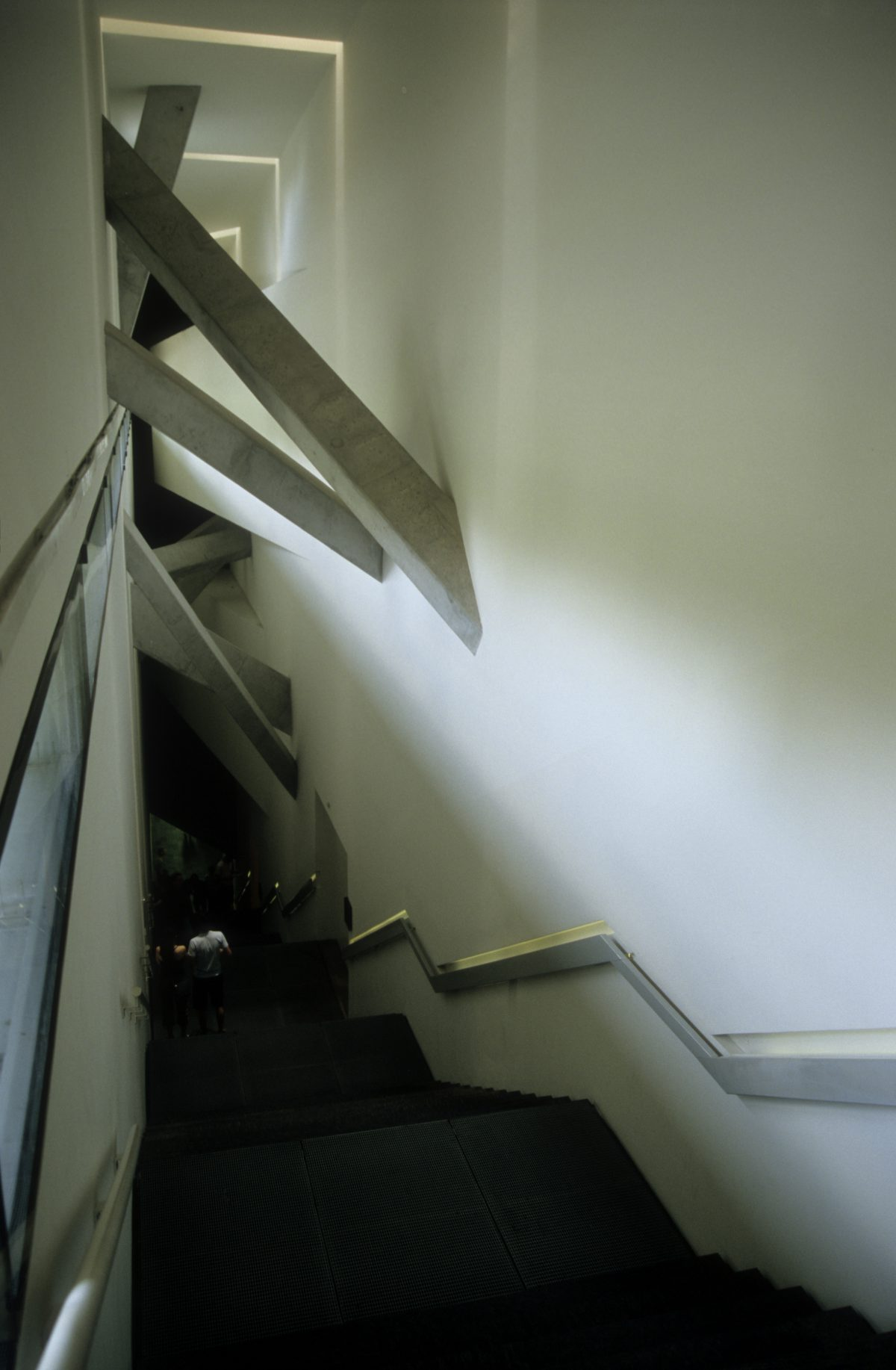 Staircase - Jewish Museum, museum, design
