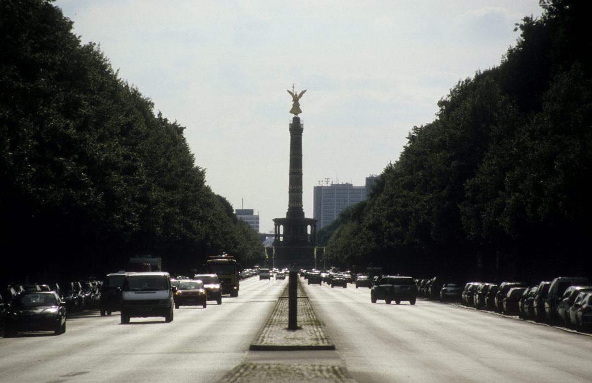 landmark, street, car
