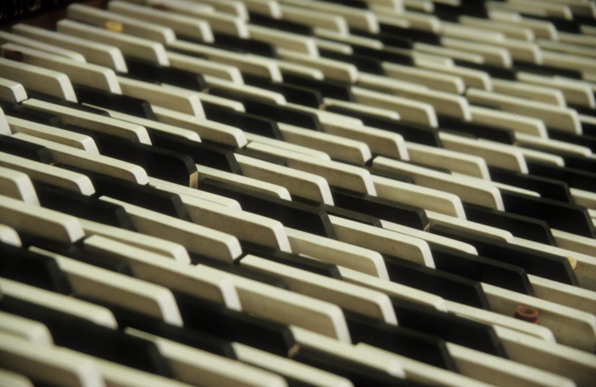 Piano - At the Musical Instrument Museum, pattern, abstract, many