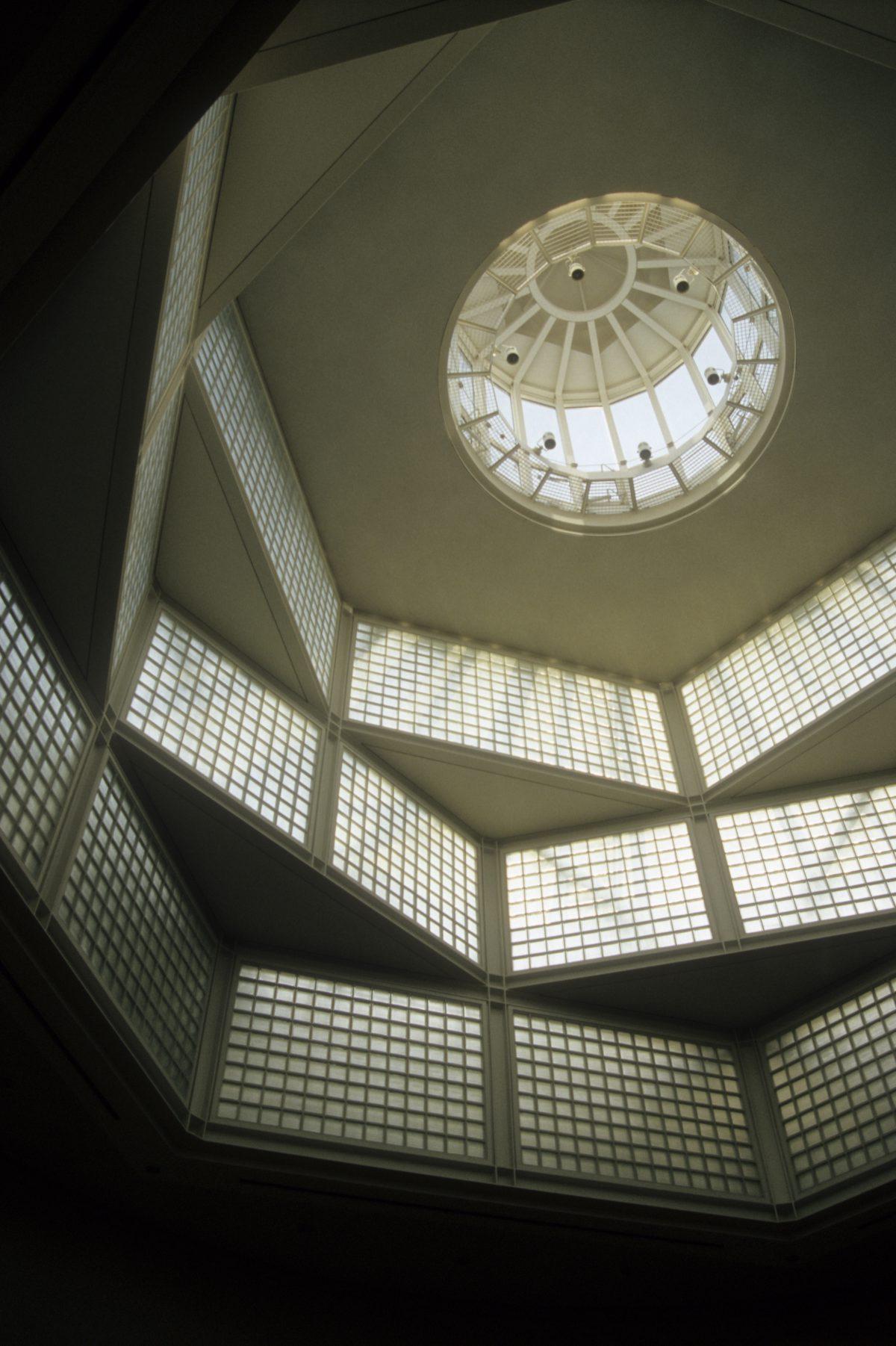 Dome - at Gemäldegalerie, ceiling