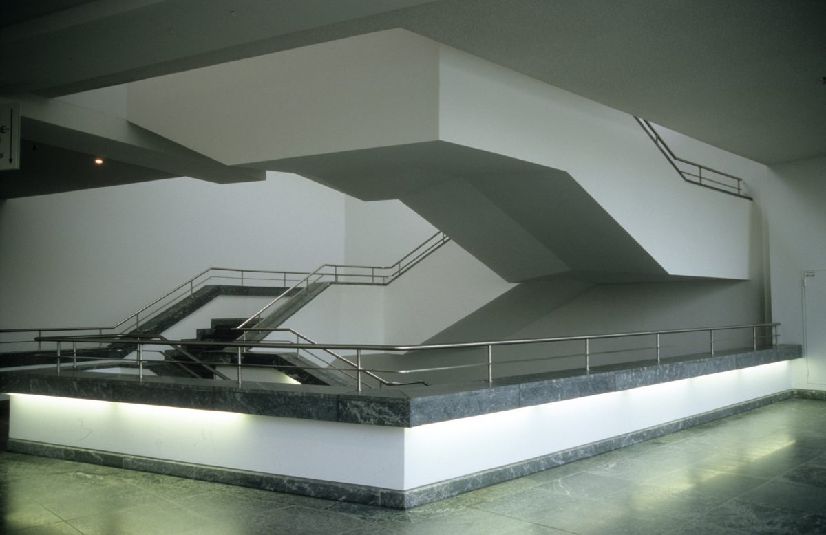Staircases - at Gemäldegalerie, stair, design
