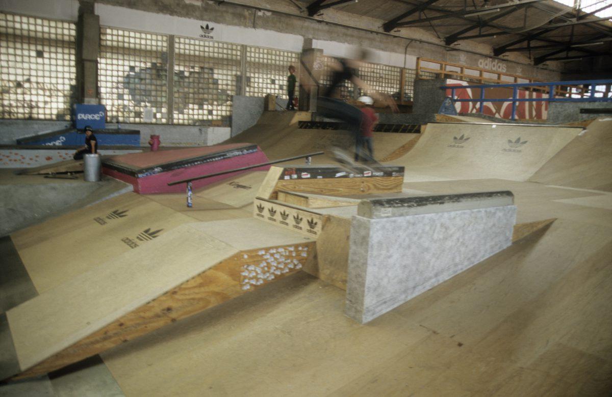 Skate park, male, skate