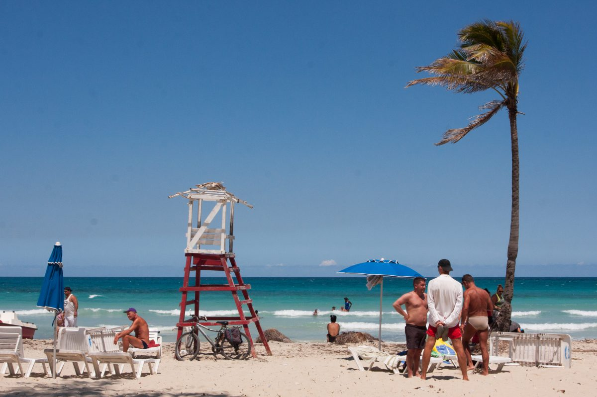 people, beach, lifeguard