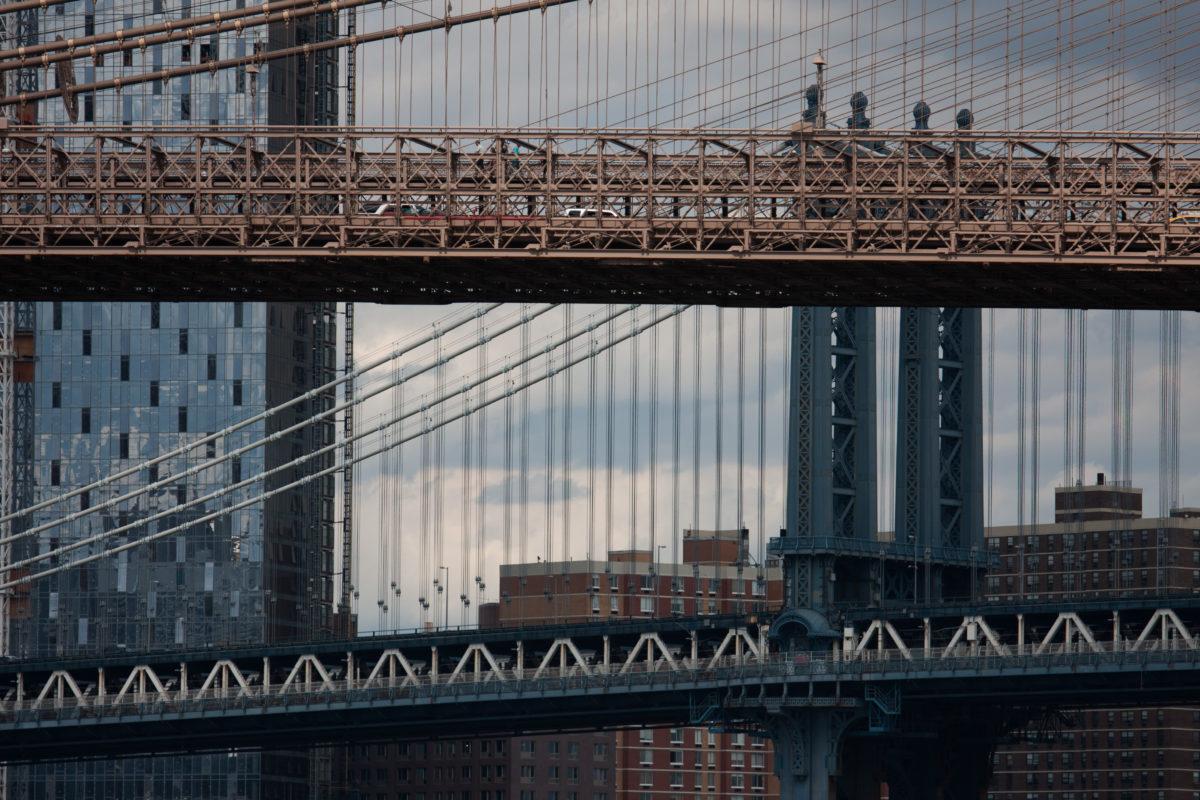 Brooklyn and Manhattan bridge, bridge