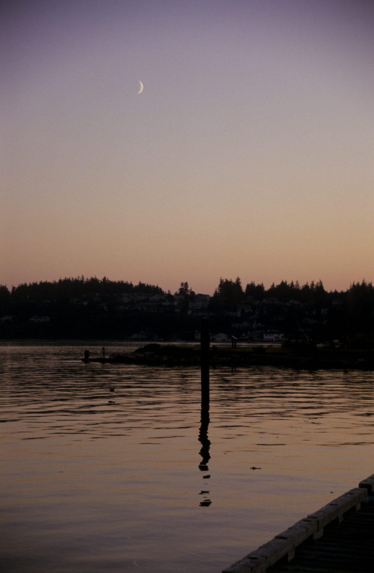 Sunset, sea, sunset