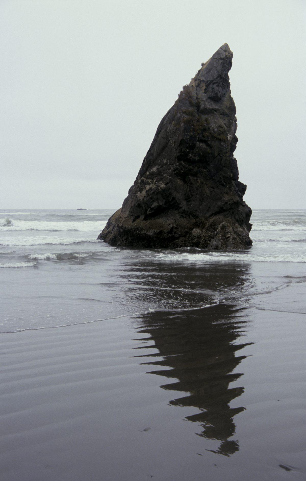 rock, sea, beach