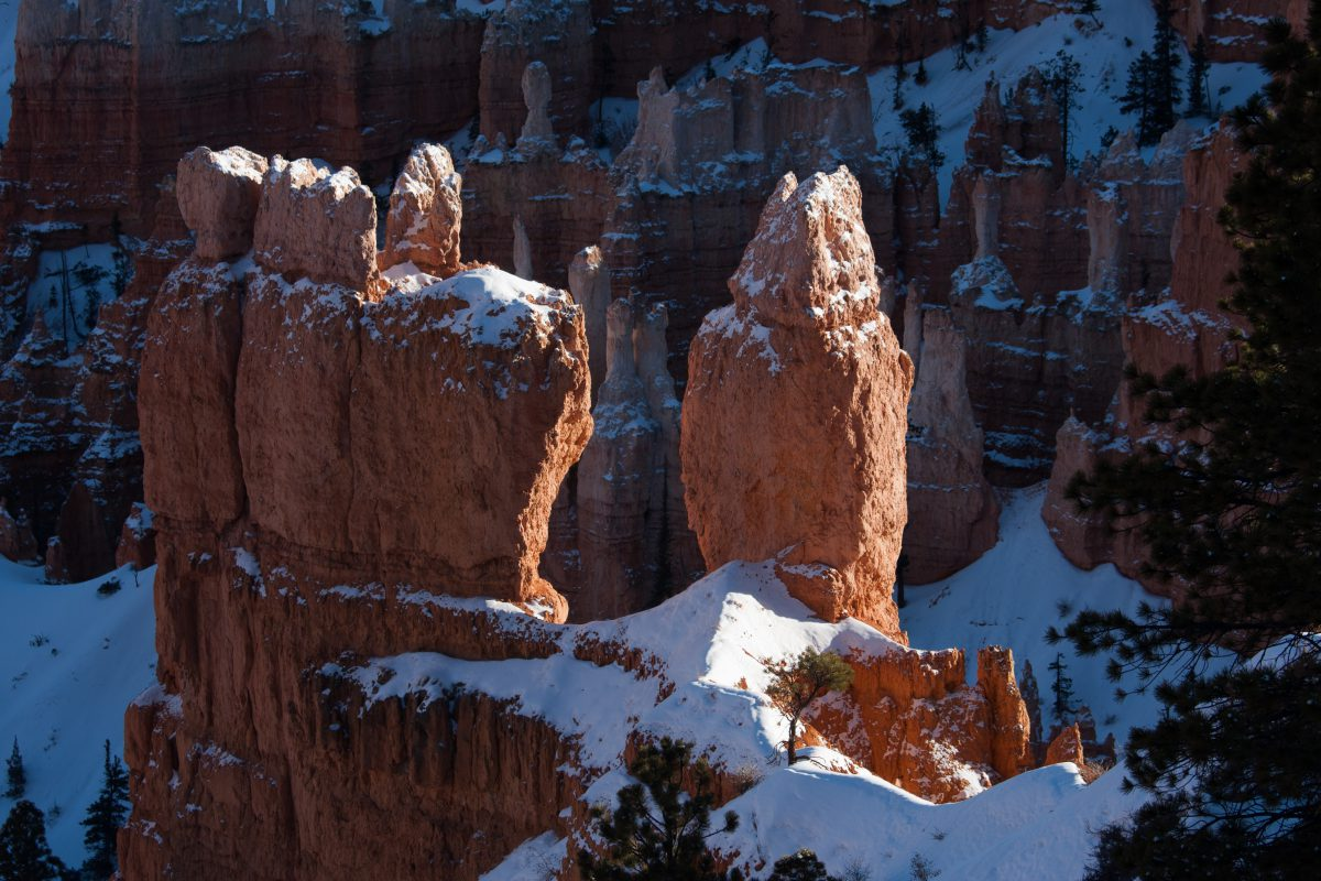 Bryce Canyon, mountain, rock, view