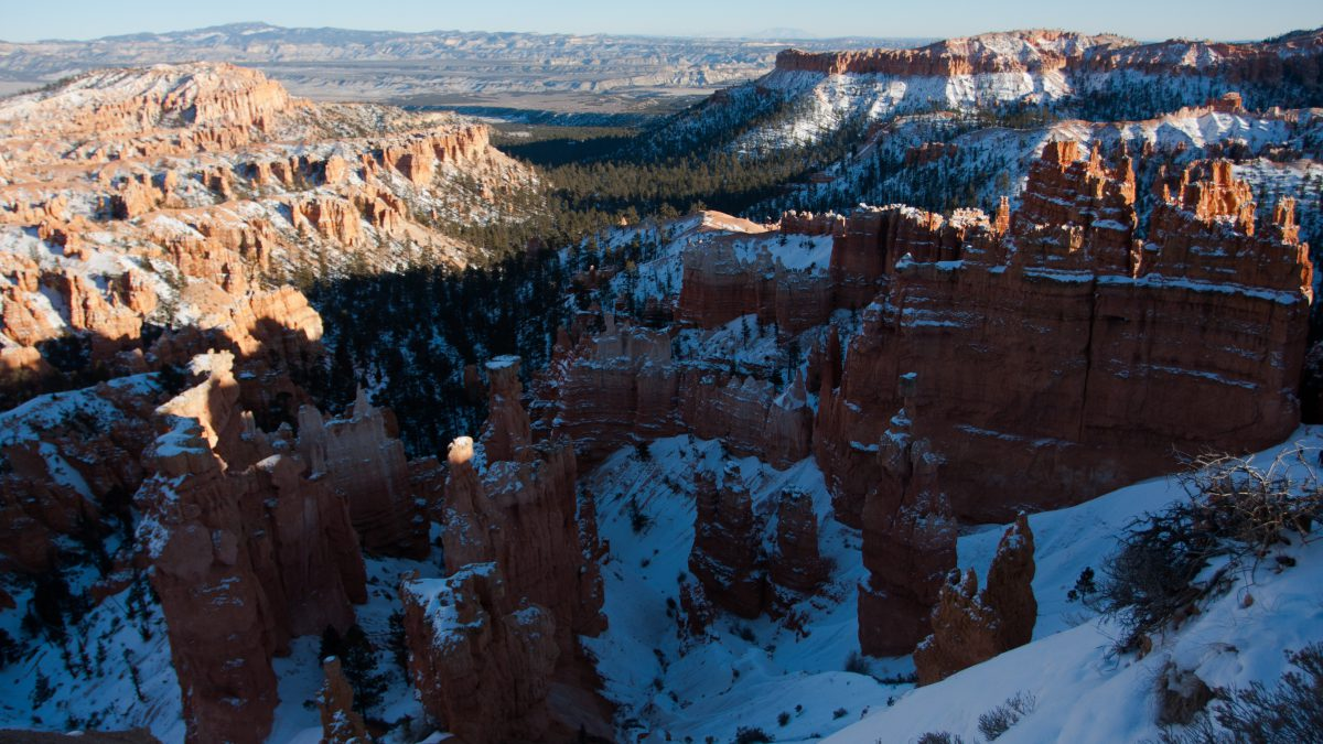 Bryce Canyon, mountain, canyon, view