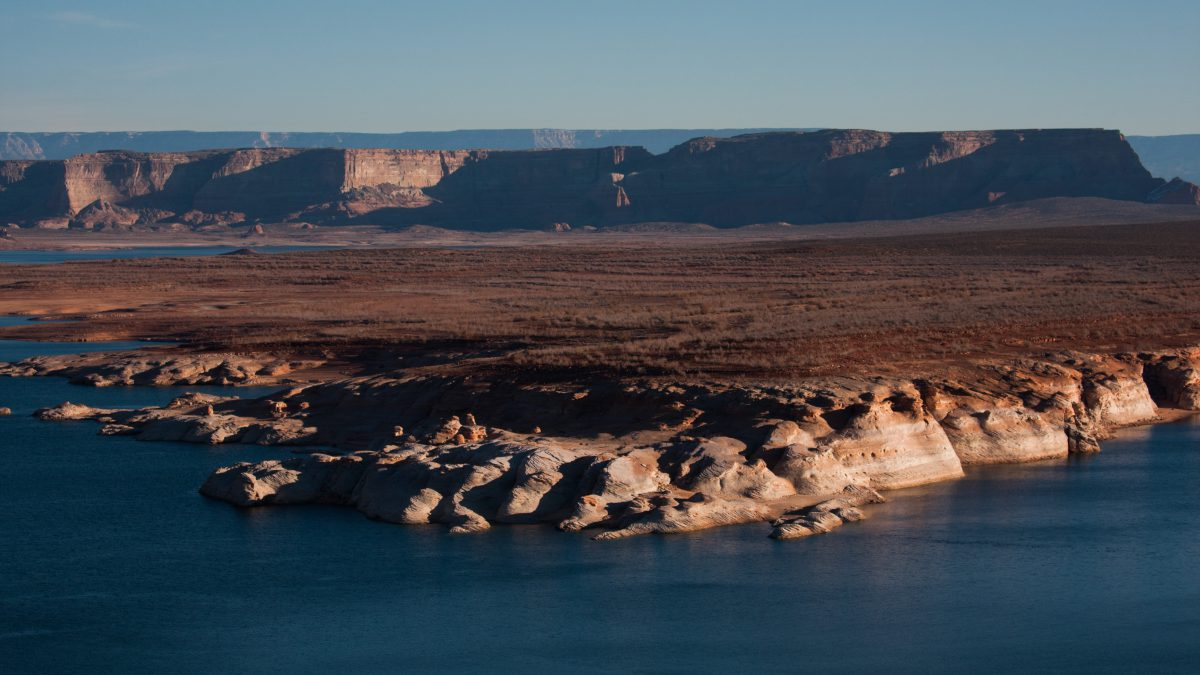 Lake Powell, view, lake