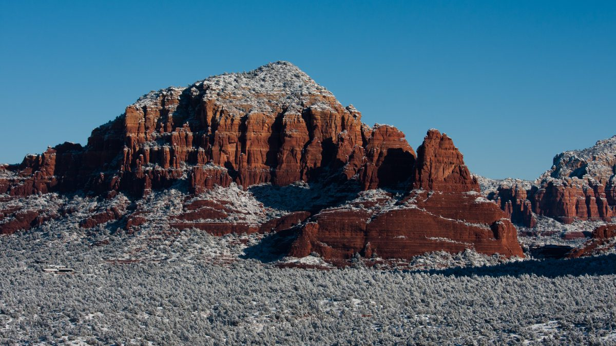 Sedona, mountain, rock, view, landmark