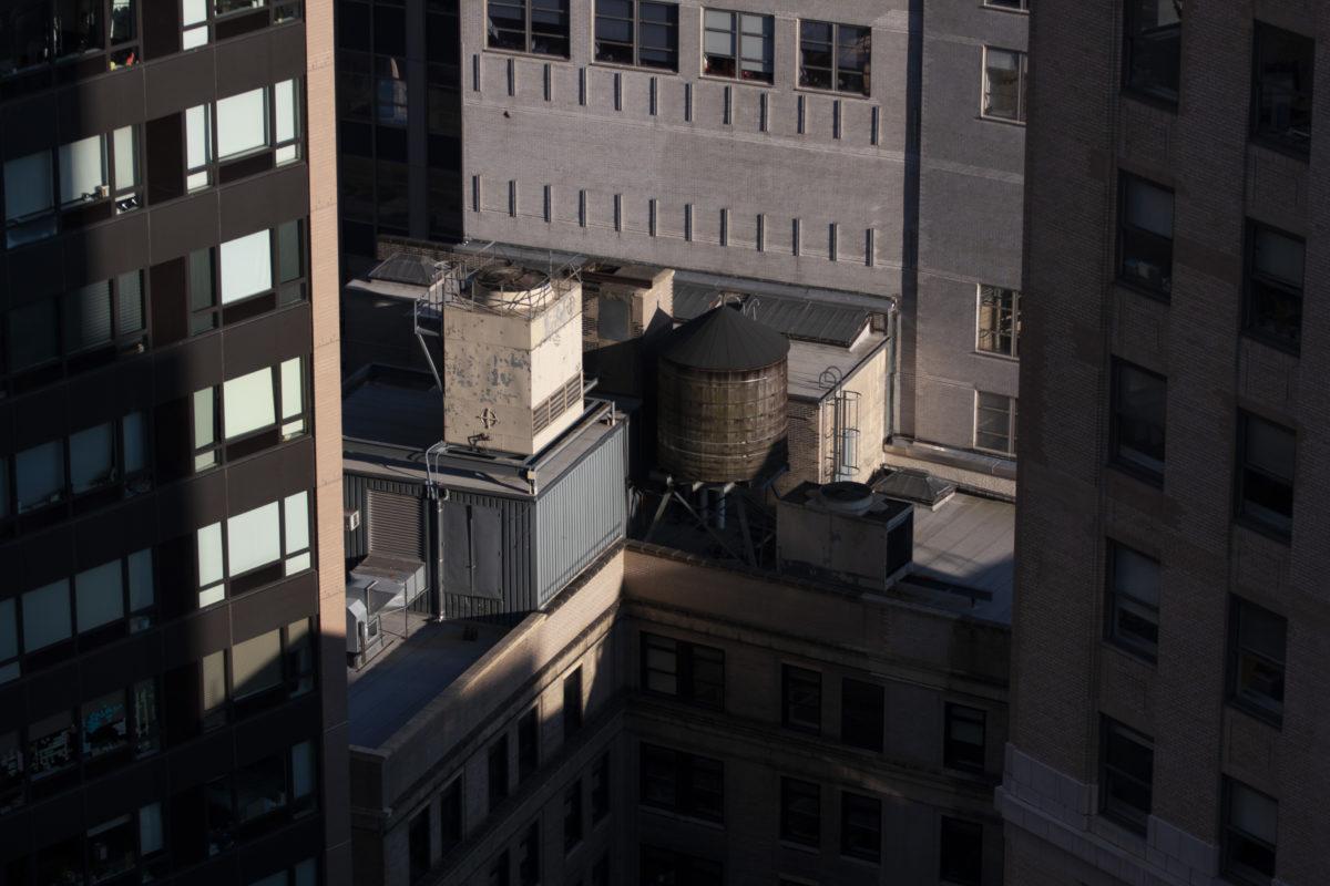 Manhattan, building, city