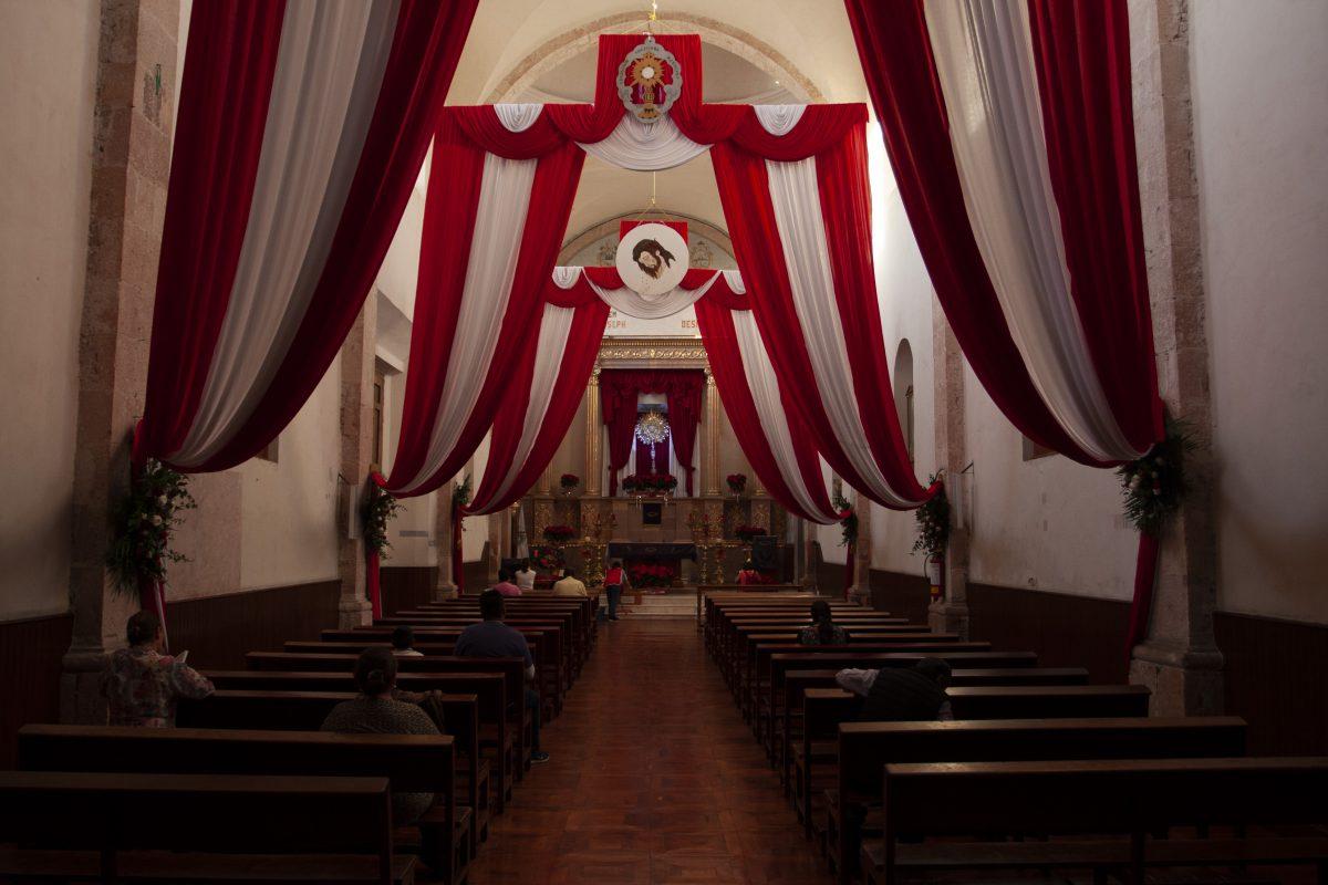 church, light