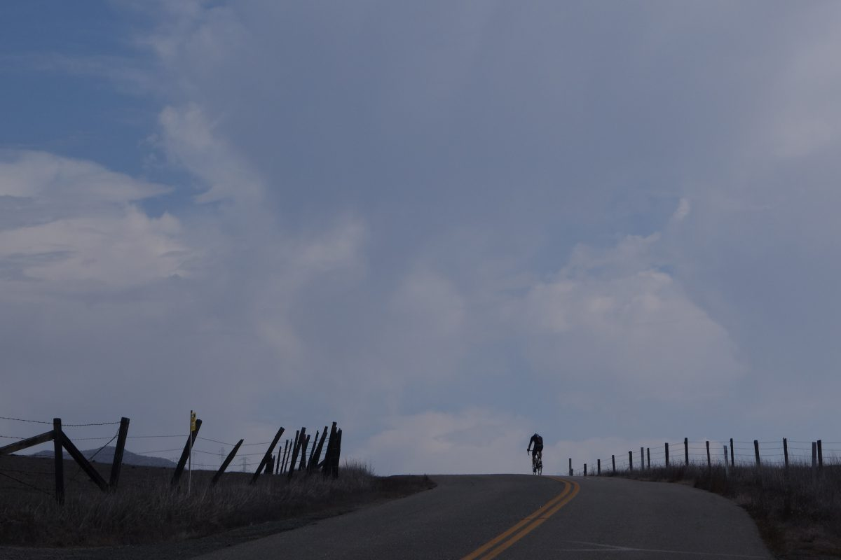 Cycling tour - Vancouver to LA - Uphills, road, bike, sky, cloud